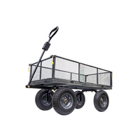 Large Steel Mesh Cart/Trailer